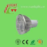 Spotlight 3W Gu 10 LED, LED de baja potencia de la lámpara