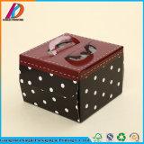 4c het afdrukken van het Vouwbare Vakje van de Cake van de Verjaardag van het Document Vierkante
