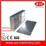 Hardware que trabaja a máquina del CNC de la parte de torneado