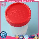 Tazza di plastica dell'urina di sterilizzazione medica a gettare