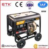 디젤 엔진 발전기 세트 (6KW)를 유지하게 쉬운
