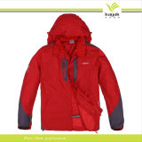 Cappotto impermeabile del Windbreaker di qualità dello scaldino su ordinazione di inverno (W-17)