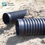 Sn4 HDPEの倍の壁の下層土システムの波形の排水の管