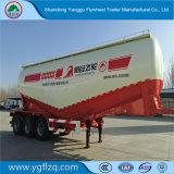 Tanker van het Cement van de V-vorm 40-60m3 de Verticale Bulk/Aanhangwagen van de Vrachtwagen van de Tank de Semi