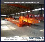 Árbol del chino 3 acoplado plano de la base inferior de 70 toneladas para la venta