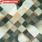 Ziegelstein Patternpre-Angestrichener Al-Zink beschichteter Stahlring 3D für Dach-Blatt