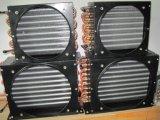 Luft abgekühlter Aluminiumflosse-Kupfer-Kondensator für Kühlraum
