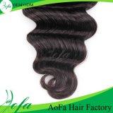 100%の加工されていない海洋波の毛のブラジルのバージンの人間の毛髪の拡張