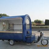 O Hamburger vermelho do velomotor elétrico do carro do alimento Carts o caminhão móvel Jy-B51 do alimento do café