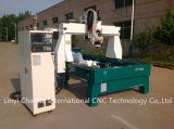 4 máquina do router do CNC da estaca da espuma da linha central 3D