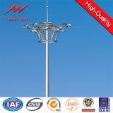 Sports Center Lighting를 위한 20m Multisided Galvanized High Mast 폴란드