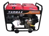 Yarmax 5.5va 6.5kVA ouvrent le type moteur diesel diesel Genset de groupe électrogène