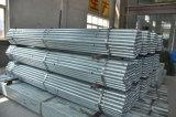 La pipa de acero galvanizada alta calidad y soldó con autógena la pipa de acero para el andamio/la pipa galvanizada usada invernadero