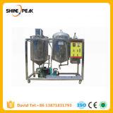 Mini macchinario di raffinamento raffinato dell'olio vegetale della macchina della raffineria di petrolio olio