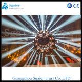 Gedrehte Steuerpult des Sonnenschirm-beleuchtet der drehende Binder-DMX-512 Binder-Kreis-Binder