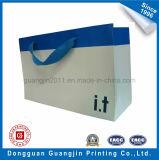 Цветастая хозяйственная сумка бумаги Kraft конструкции для упаковки одежды