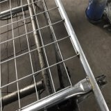 Панели загородки Австралии покрашенные серебром гальванизированные временно