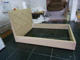 Base de cuero barata de la PU del alto cabecero de los muebles del hotel HK010