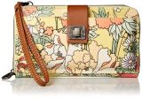 Titulaire de la carte de portefeuille d'embrayage sac à main de femmes Portefeuille Portefeuille en cuir Petit Compart Mesdames Mini sac à main avec l'ID de fenêtre (WDL01101)