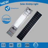 1つの太陽LEDの街灯のセンサー100With120Wすべて