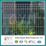 Versieht dekorative Rollenschleife geschweißter Maschendraht-Zaun Fabrik-Preis mit einem Gatter