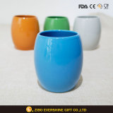 Tazza di ceramica delle tazze di caffè senza maniglia 8oz