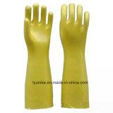 Долго ПВХ Wear-Resistant домашних водонепроницаемые перчатки для очистки