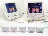 Equipement de rajeunissement de la peau à haute précision par ultrasons à haute intensité de bureau