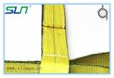 2018 10 ton de tecido de poliéster lingas de içamento