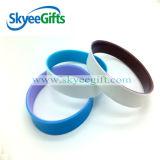 O Wristband em branco o mais barato do silicone do Sell quente
