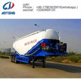 3 ejes 30-60cbm portadora del depósito de cemento a granel Semi Trailer