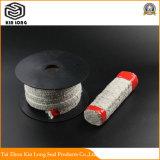 Keramische Faser-Verpackung verwendet für Dichtungs-Verpackung und Dichtungen für Hochtemperaturflüssigkeit, Gas-Pumpen, Kompressoren und Ventile