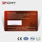 서명 바를 가진 최신 Ntag213 RFID 회원증