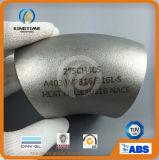TUV (KT0290)를 가진 ASTM B16.9 45D 팔꿈치 스테인리스 관 이음쇠
