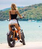"""20"""" x 4,0 pouces de large de matières grasses de la plage de 500W Cruiser Pneus vélo électrique"""