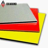 Polyester panneau composite en aluminium (AE-37A rouge) PE ACP