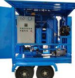 Les roues de la voiture avec huile de transformateur la filtration de la machine de traitement