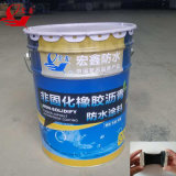 Waterdichte Membraan van het Bitumen van het dakwerk het Waterdichte Materiële nietGeneesbare Vloeibare Rubber