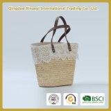 صنع وفقا لطلب الزّبون [هندمد] حقيبة يد [سترو-ووفن] حقيبة مع مقبض