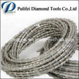 Stone Diamond Cutting Profiling Rope Diamond Tools Scie à grains de granit