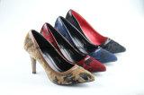 Новые ботинки способа повелительниц типа с шпильками