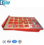 Concasseur à Mâchoires Shanbao de pièces de rechange à chaud de la chambre d'usure de la vente