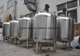 El tanque de almacenaje purificado sanitario del agua del acero inoxidable
