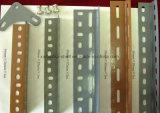 Amplamente usado Warehouse rebite de ângulo com Fenda do Rack de ferro/ Estantes Muliti-Level