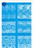 Het Kant van de wimper voor Kleding/Kledingstuk/Schoenen/Zak/Geval J005 (breedte: 4.5cm23cm)