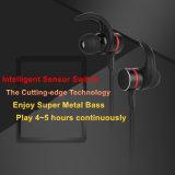 Auriculares sem corda de Bluetooth do interruptor magnético do sensor para a ginástica/o funcionamento/ciclagem/que movimenta-se
