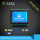 Visualización industrial monocromática del LCD del control 128X64