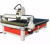 Máquina de gravura Router CNC Router CNC para trabalhar madeira 1325 com o botão rotativo e porta de adsorção de Vácuo