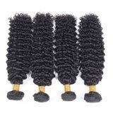 Capelli umani dei capelli di 100% dell'arricciatura crespa brasiliana non trattata di estensione