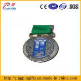 カスタム敏感な花の形の金属メダル